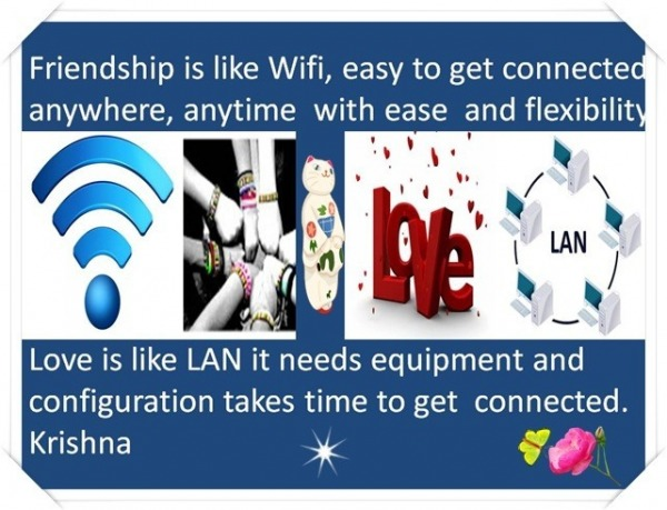Friendship is like Wifi...