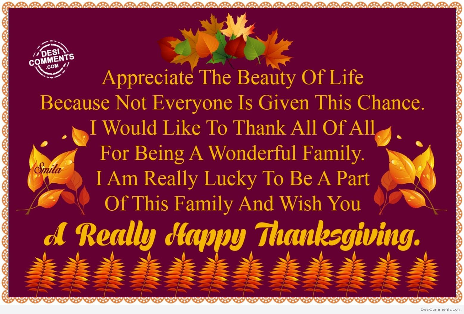 Wish You A Really Happy Thanksgiving Desicomments Com