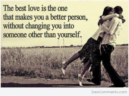 The best love is the one...