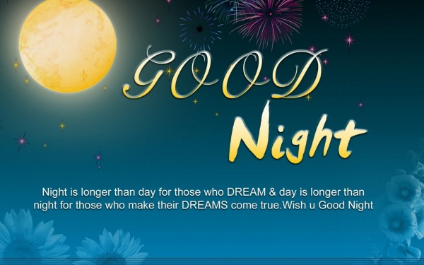 Good Night - Night is longer than day for those...