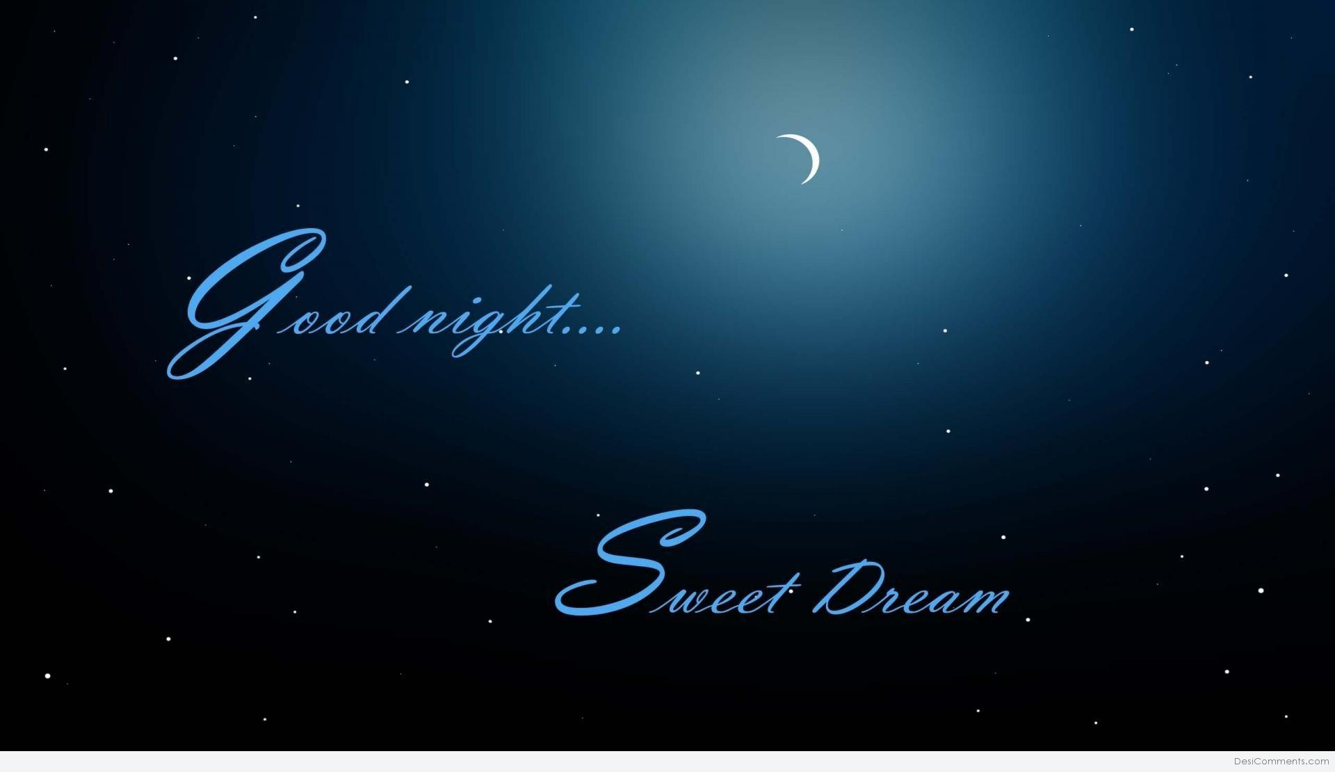 Good Night Sweet Dreams - DesiComments.com