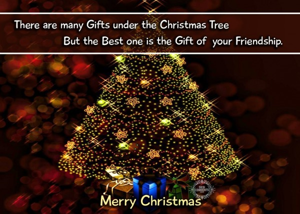 Merry Christmas - There are many gifts...