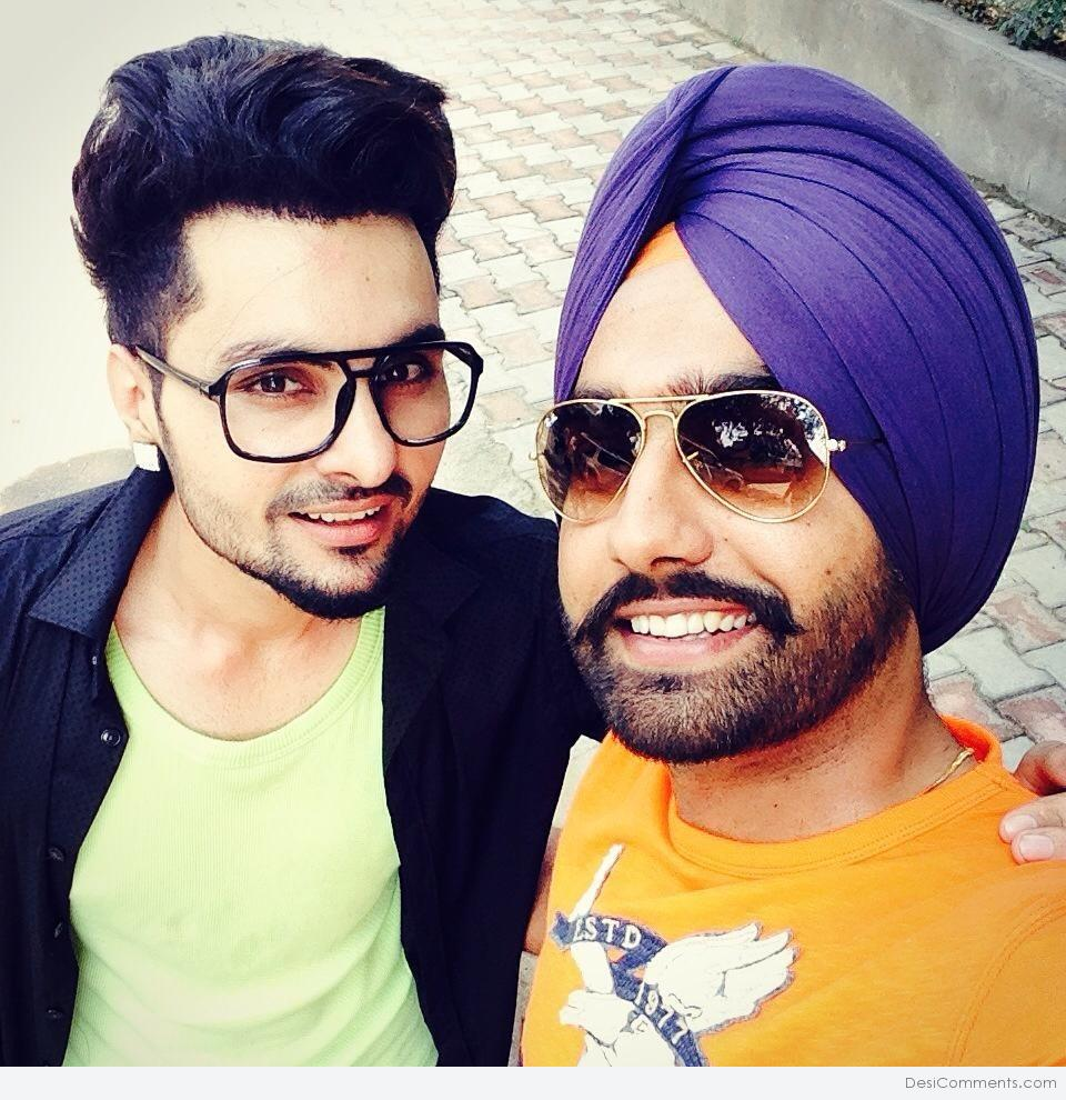 Picture B Jay Randhawa With Ammy Virk