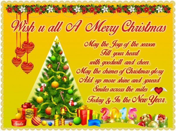 Wish U All A Merry Christmas