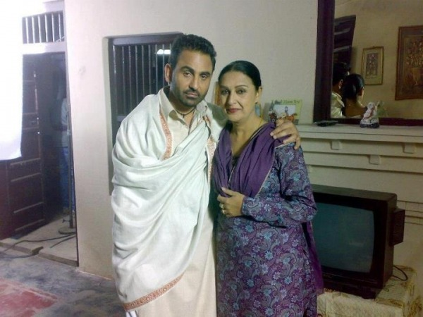 Daljeet Kaur With Sarbjit Cheema