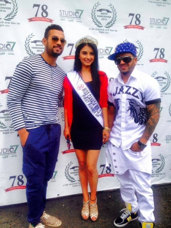 Ericka Virk With Garry And Jazzy