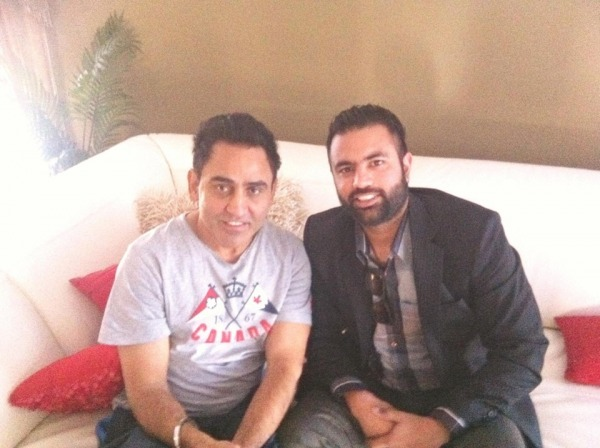 Gagan Kokri With Sarbjit Cheema