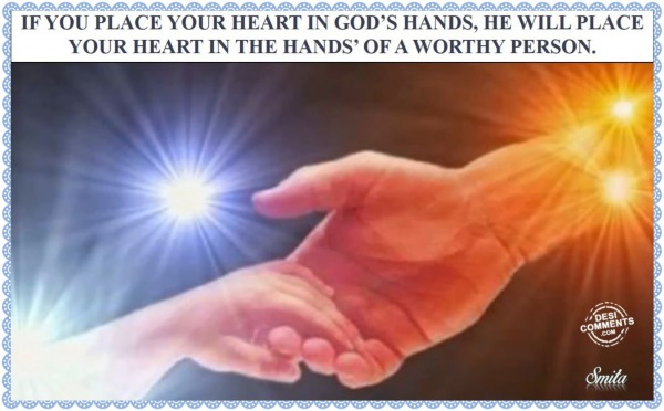 Place Your Heart in God's Hands