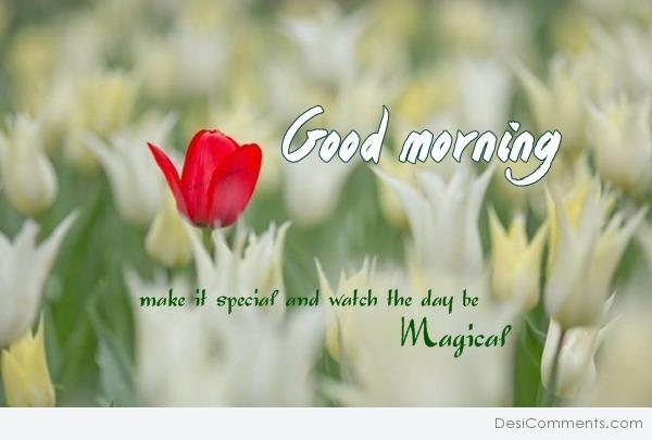 Good Morning - Make it special...