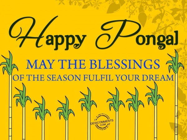 May the blessings fulfil your dream