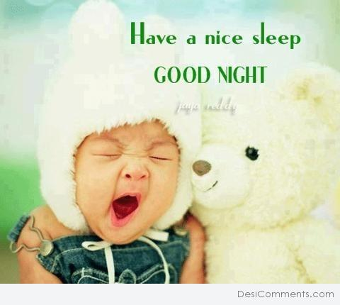 Have a nice sleep - Good Night