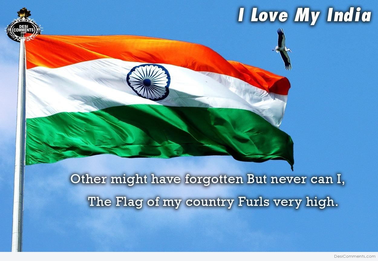 i love my india � the flag of my country� desicommentscom