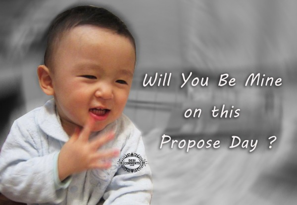Will you be mine on this propose day?