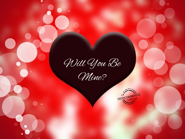 Picture: Will you be mine..?
