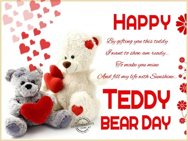 Wishing you happy teddy day