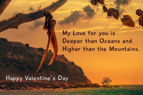 Happy Valentine's Day - My love for you...