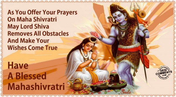 Have A Blessed Mahashivratri