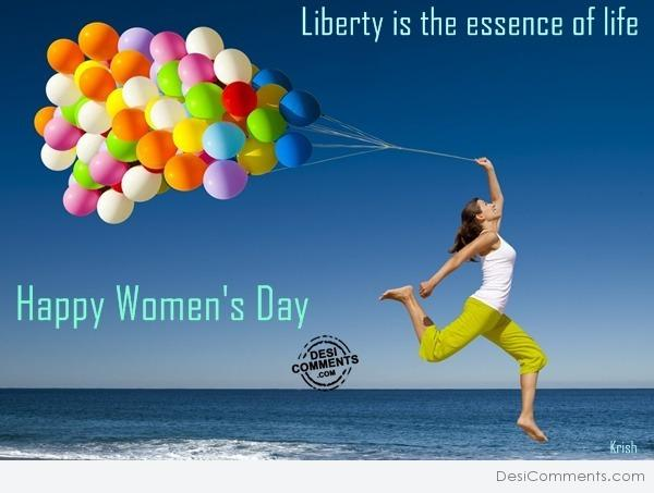 Picture: Happy women's day