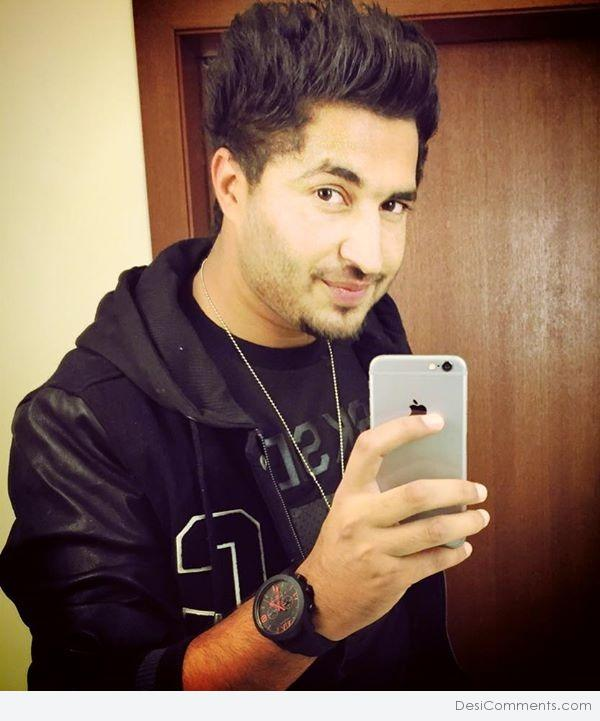 Jassi Gill In Black Jacket - DesiComments com