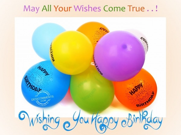 Picture: May all your wishes come true