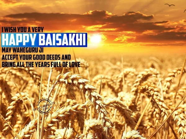 I Wish You A Very Happy Baisakhi…
