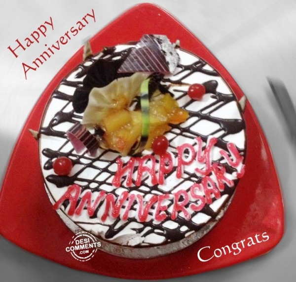 Picture: Happy Anniversary Cake