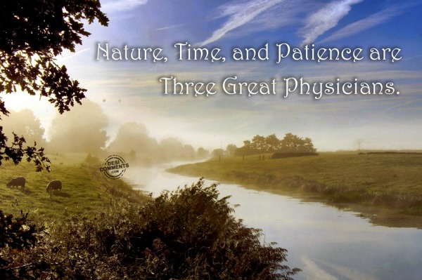 Nature, Time and Patience