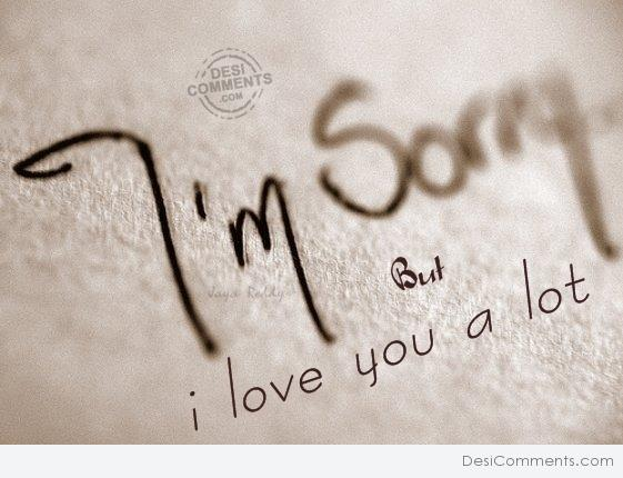 I'm Sorry - DesiComments com
