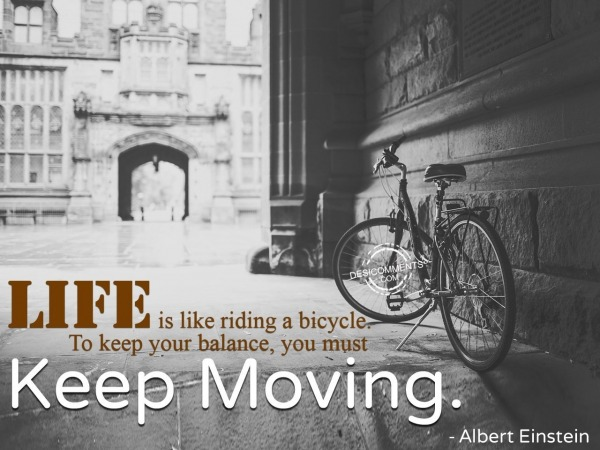 Life Is Like Riding