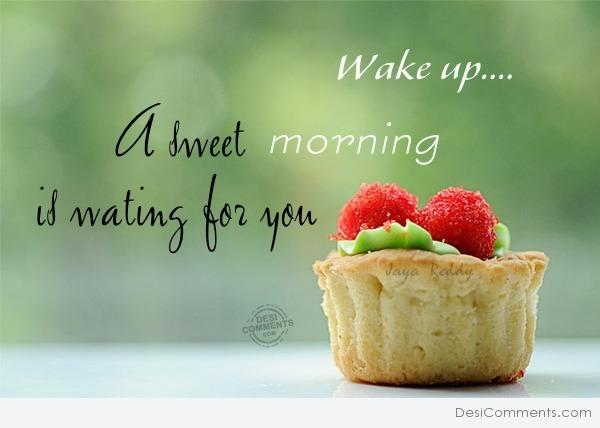 A Sweet Morning