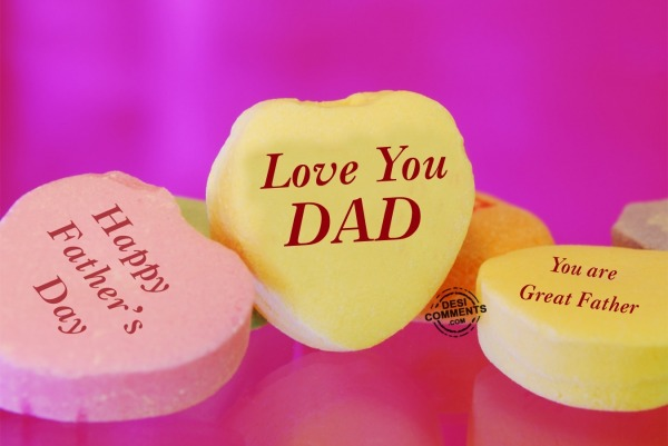 Picture: Love You Dad in Heart