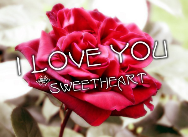 Picture: I Love You sweet heart