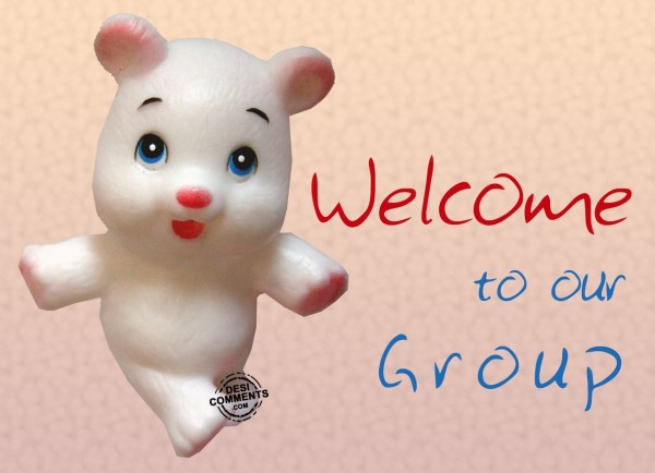 Picture: Welcome to group