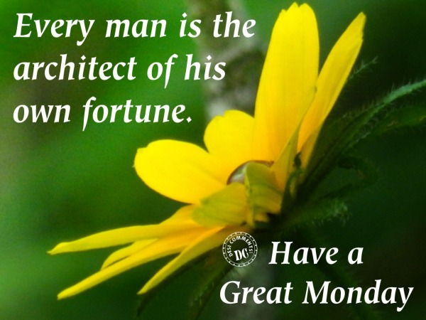 Picture: Every man is the architect