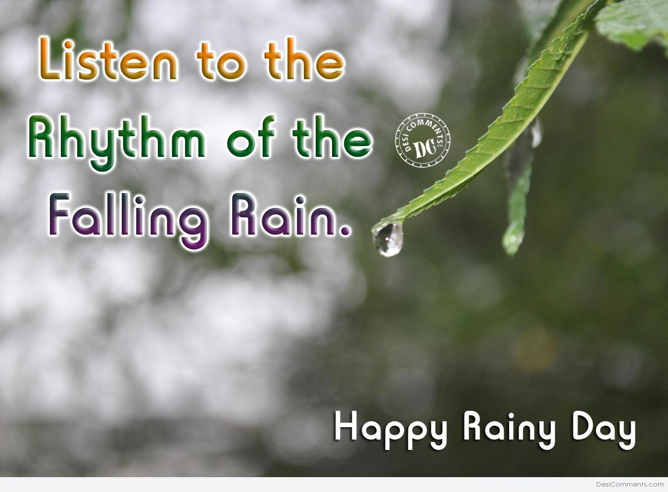 Blessed Rainy Day Quotes: Happy Rainy Day Pics For Facebook