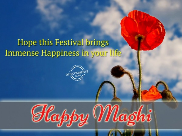 Hope this festival brings imeense happiness in your life