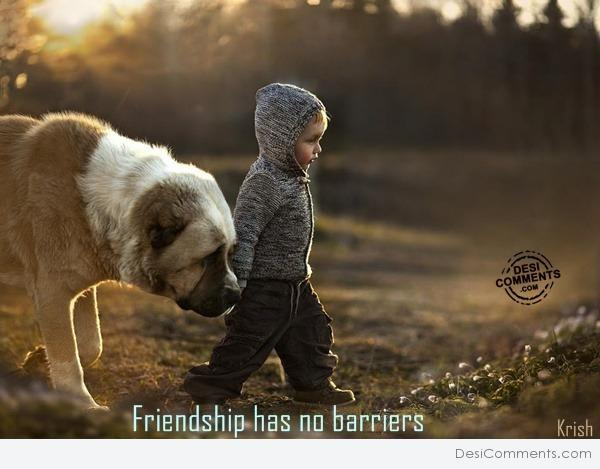 Friendship has no barriers