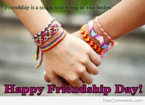 Friendship Is Single Soul