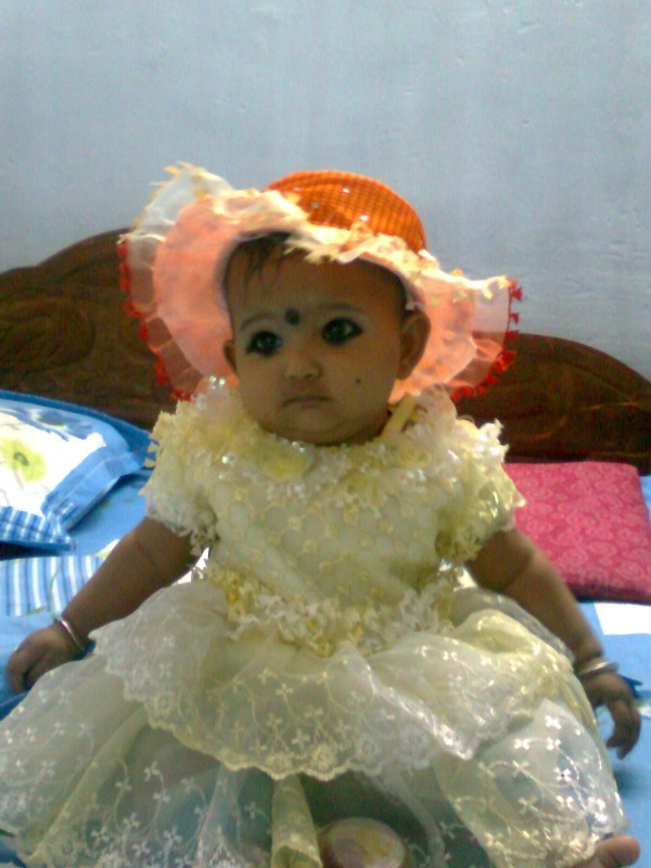 My little Angel daughter Akanksha (Chhutki)