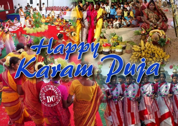 Happy karam puja