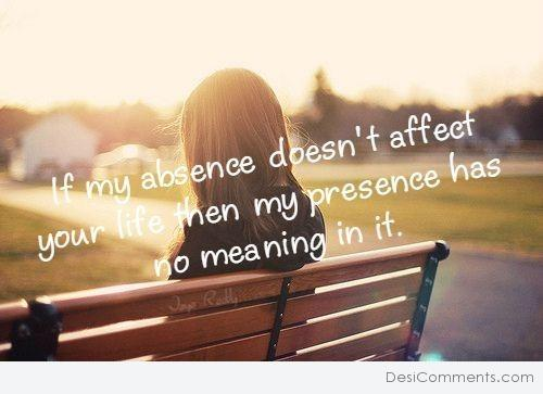 If My Absence