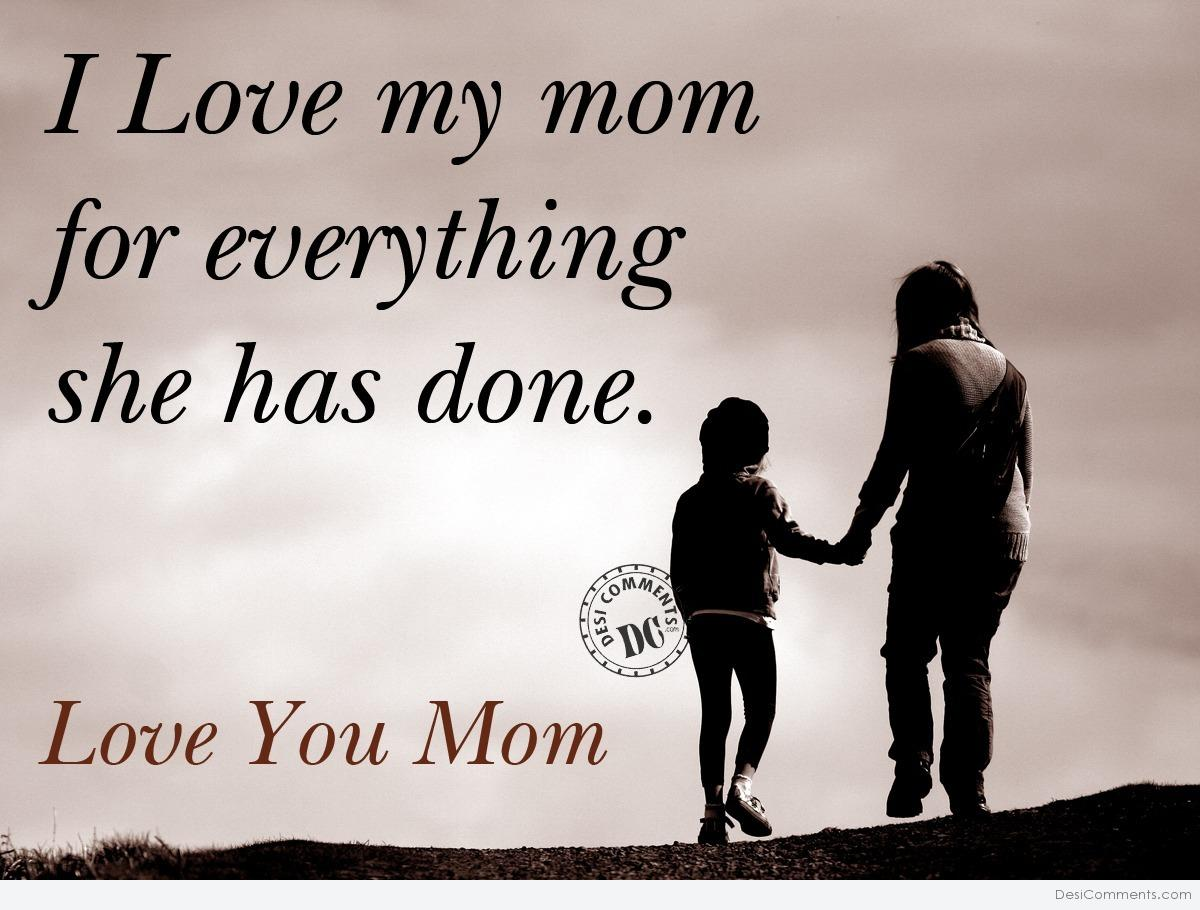 I love my mom desicomments i love my mom altavistaventures Choice Image