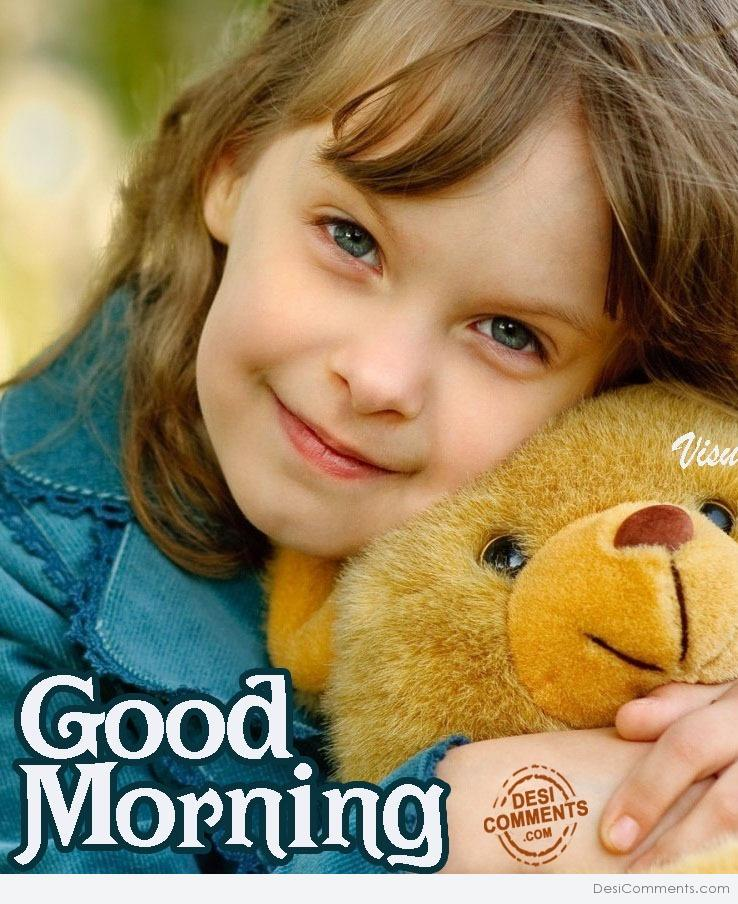 Good Morning Cute : Cute girl good morning desicomments
