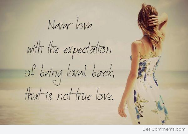 Picture: Never Love