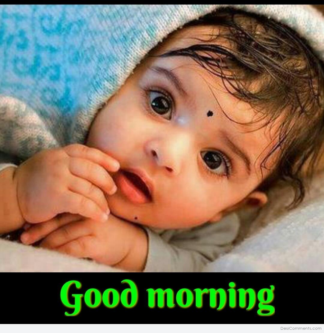 The 100 Best Cute Baby Saying Good Morning Images