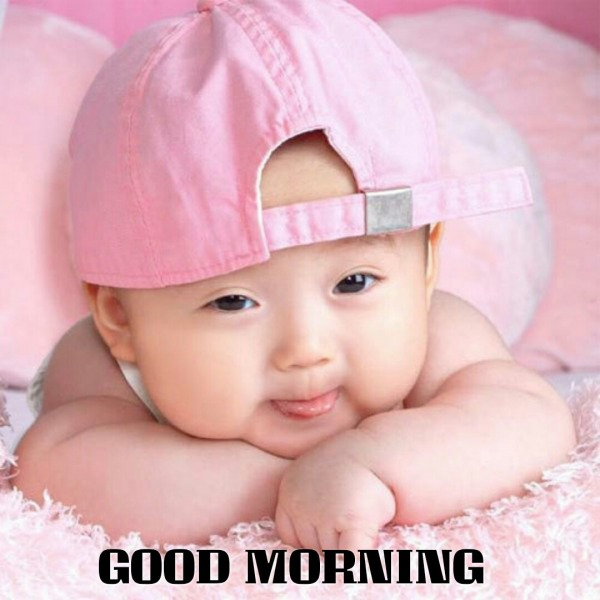 Good Morning Baby Cute : Cute baby saying good morning desicomments