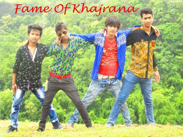 Dilshan Khan With His Friends