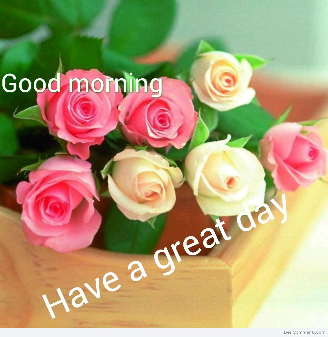 Good Morning Have A Great Day Desicommentscom