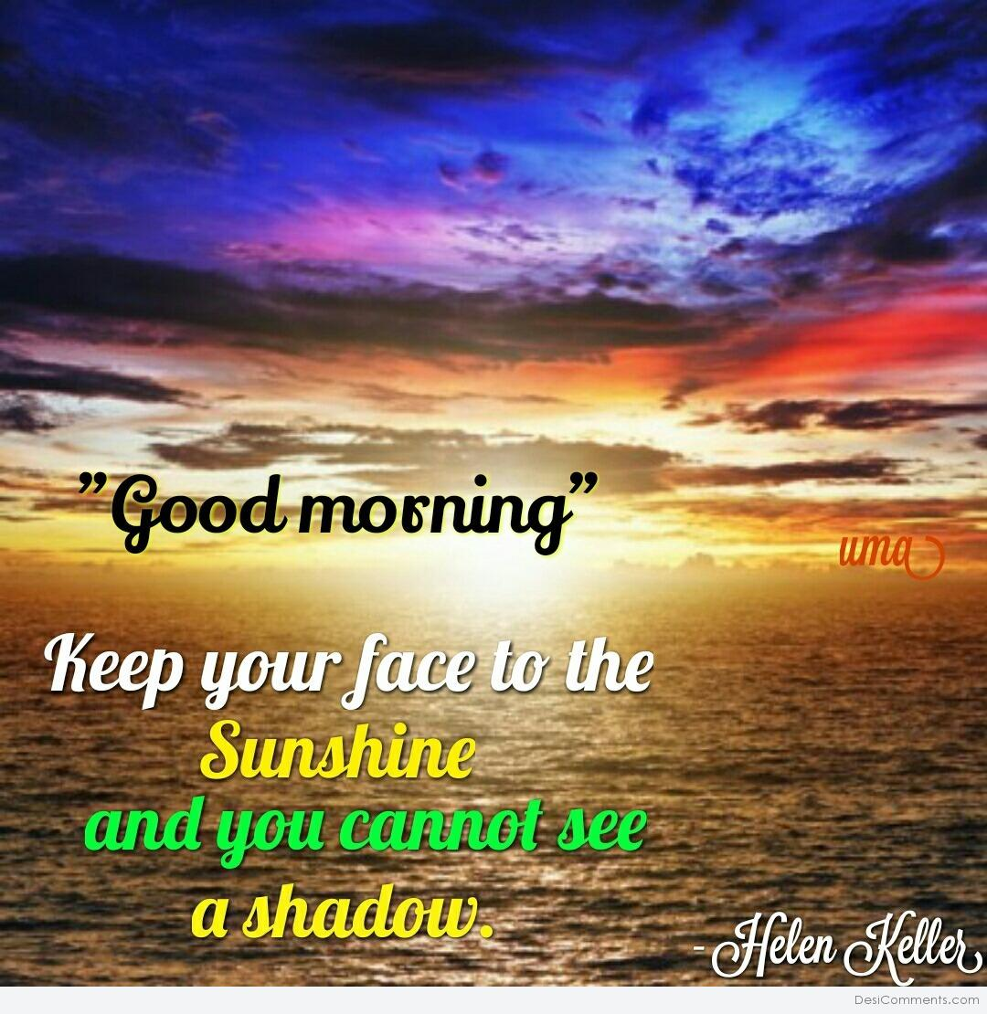 Good morning  Sunshine - DesiComments.com