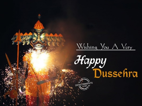 Picture: Wishing you a very Happy Dussehra